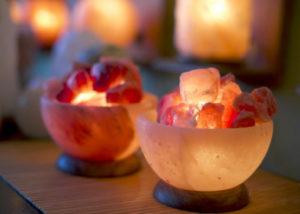 Lampada Di Cristallo Di Sale Ionizzante : Lampada di sale rosa usb cambiacolore karam khand yoga shop